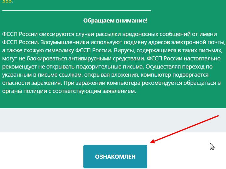 информация об услуге и требования к составлению жалобы на фссп