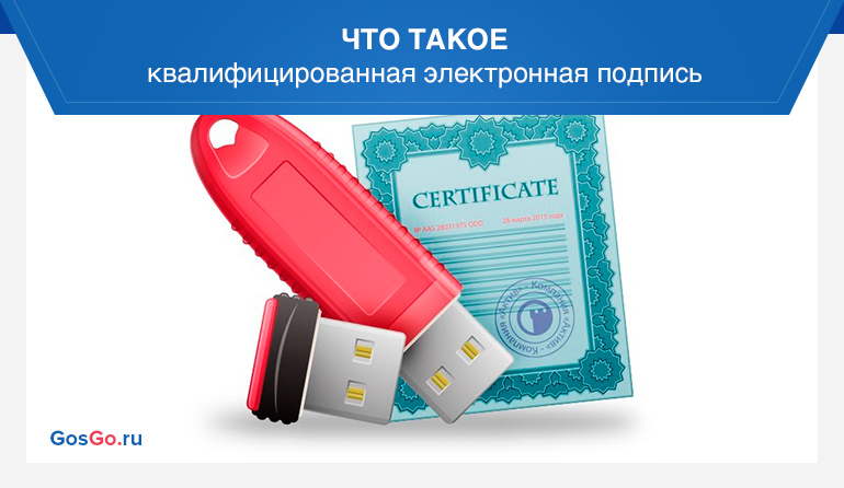 Что такое квалифицированная электронная подпись