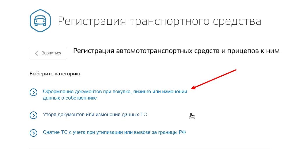 Оформление документов при покупке ТС